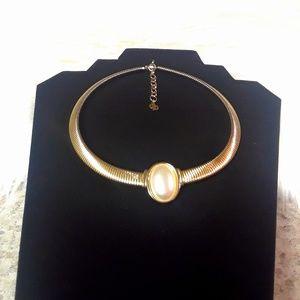 Dior gold color necklace